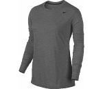 Nike Women's Long Sleeve Dri Fit - Grey