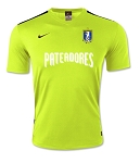 Goalie Jersey Short Sleeve Yellow