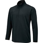 Nike  Anthracite Textured Training 1/2 Zip Up