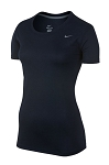 Nike Women's Short Sleeve Dri Fit - Navy