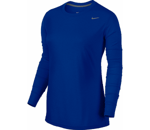 Nike Women's Long Sleeve Dri Fit - Royal