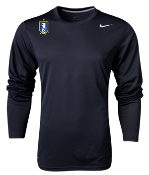 Black Long Sleeve Dri Fit